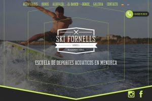 Skifornells salwebs menorca